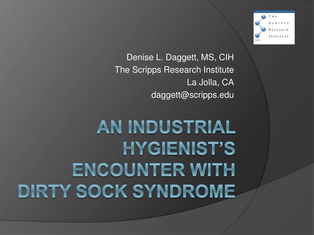 denise l daggett ms cih the scripps research institute la jolla ca daggett@scripps edu l.