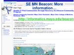 se mn beacon more information