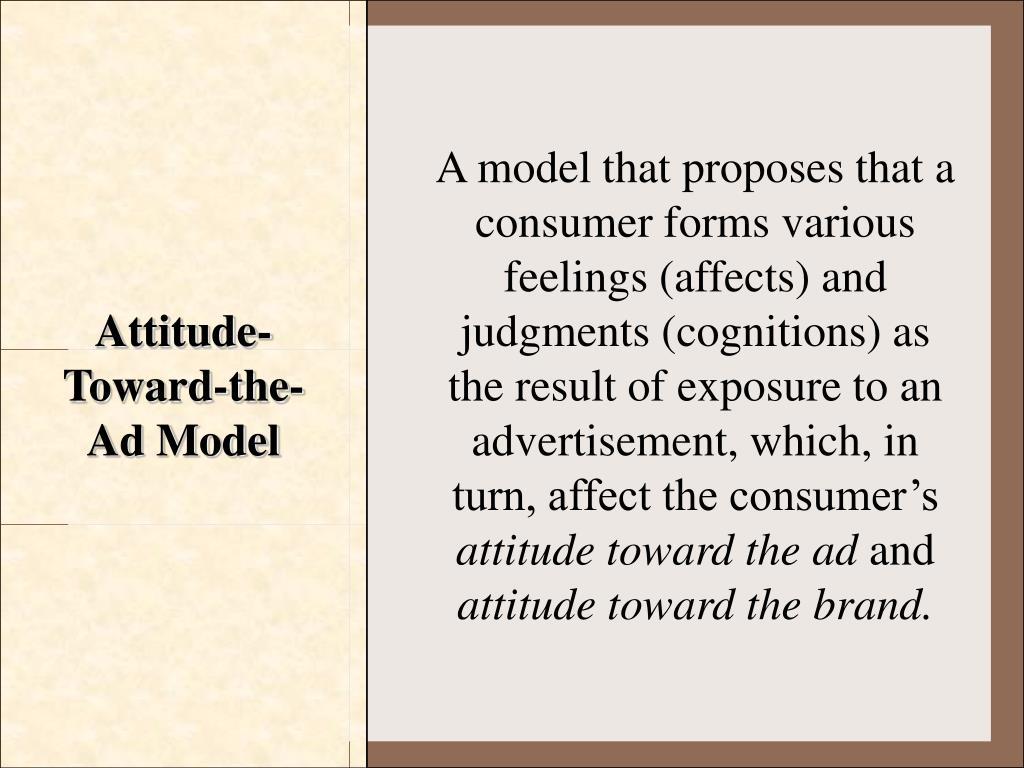 Attitude-Toward-the-Ad Model