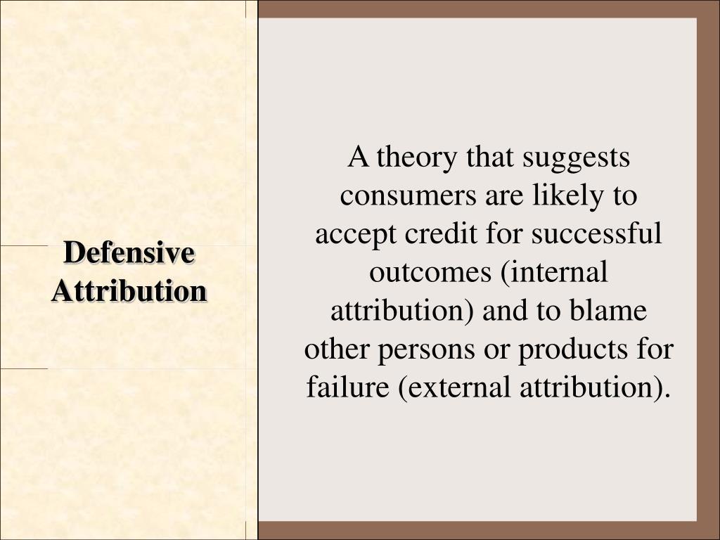 Defensive Attribution