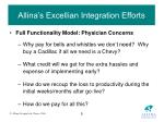 allina s excellian integration efforts9