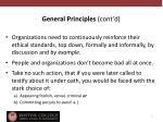 general principles cont d