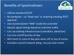 benefits of synchrogreen