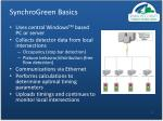 synchrogreen basics