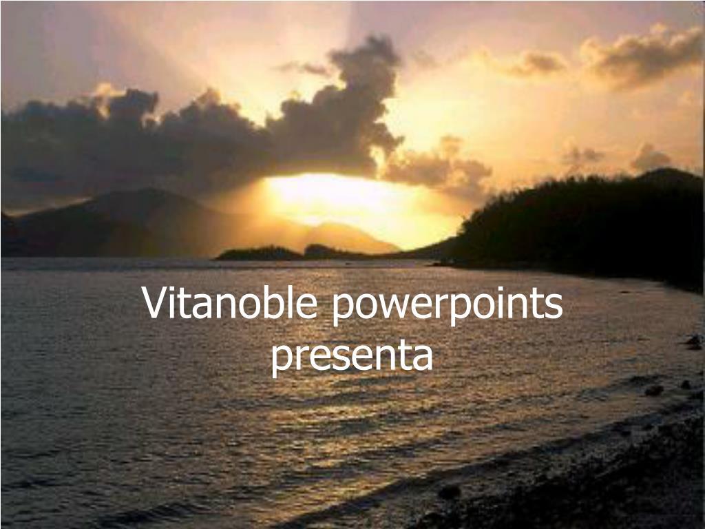 vitanoble powerpoints presenta l.