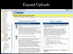 expand uploads