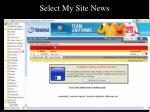 select my site news55
