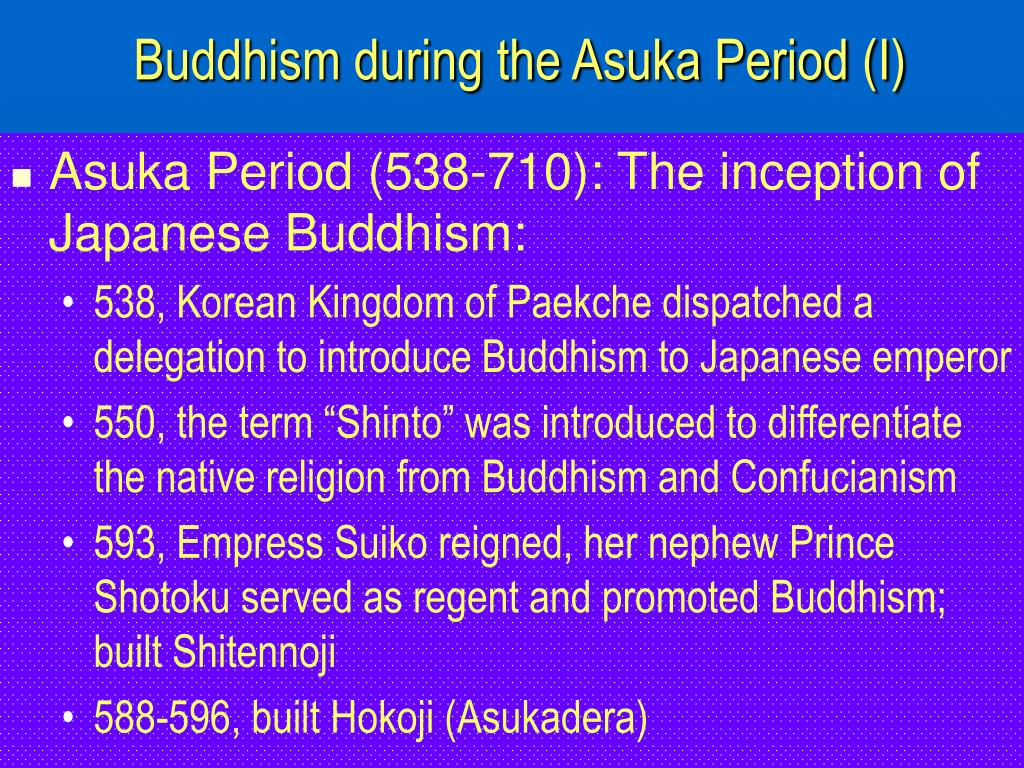 buddhism during the asuka period i l.