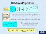 jonswap spectrum
