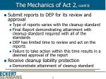 the mechanics of act 2 cont d14