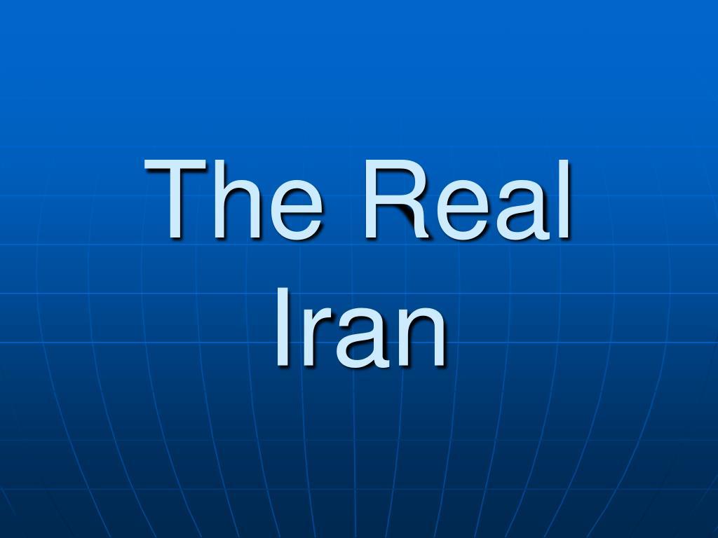 the real iran l.