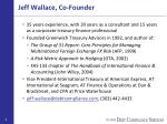 jeff wallace co founder
