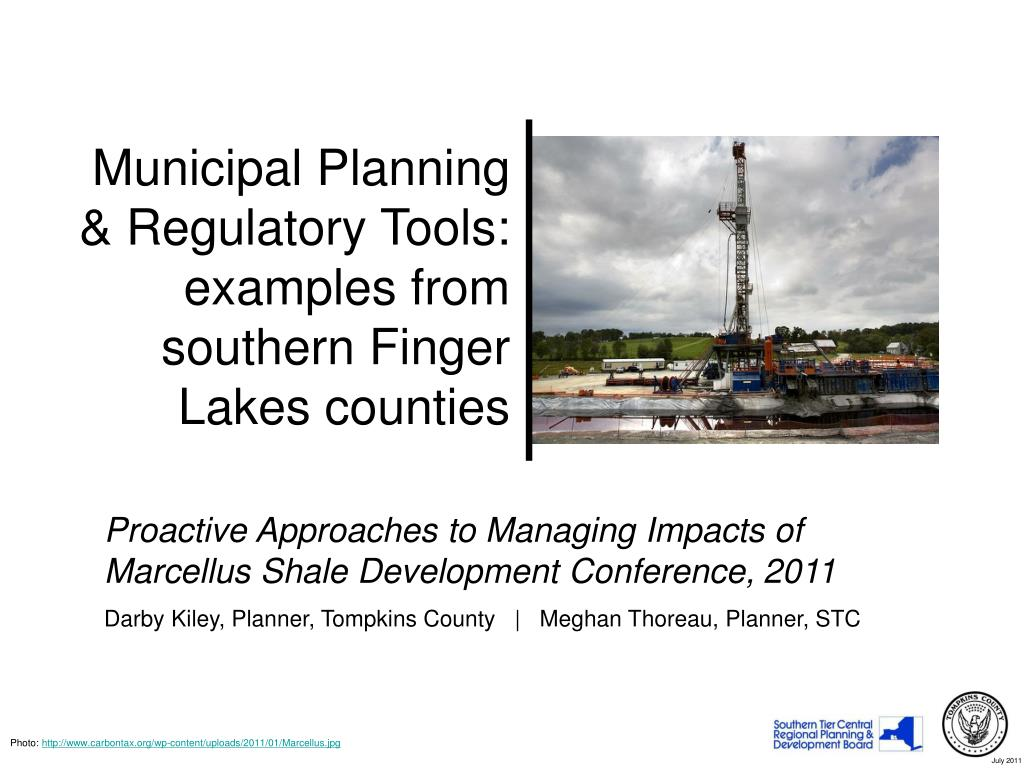 municipal planning regulatory tools examples from southern finger lakes counties l.