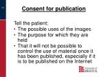 consent for publication