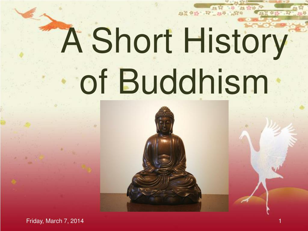 a short history of buddhism l.