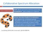 collaborative spectrum allocation