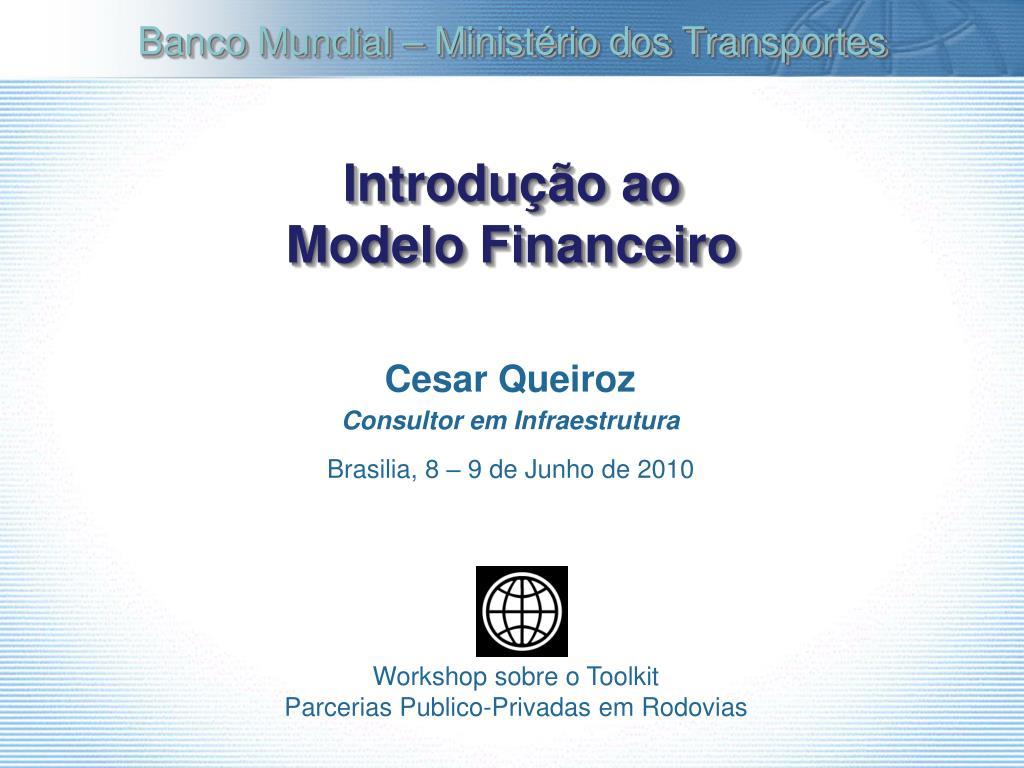 introdu o ao modelo financeiro l.