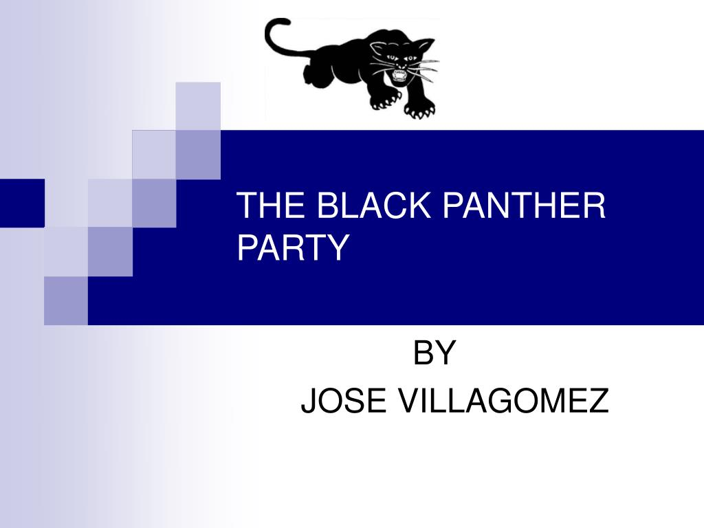 the black panther party l.