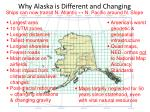 why alaska is different and changing
