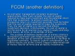 fccm another definition