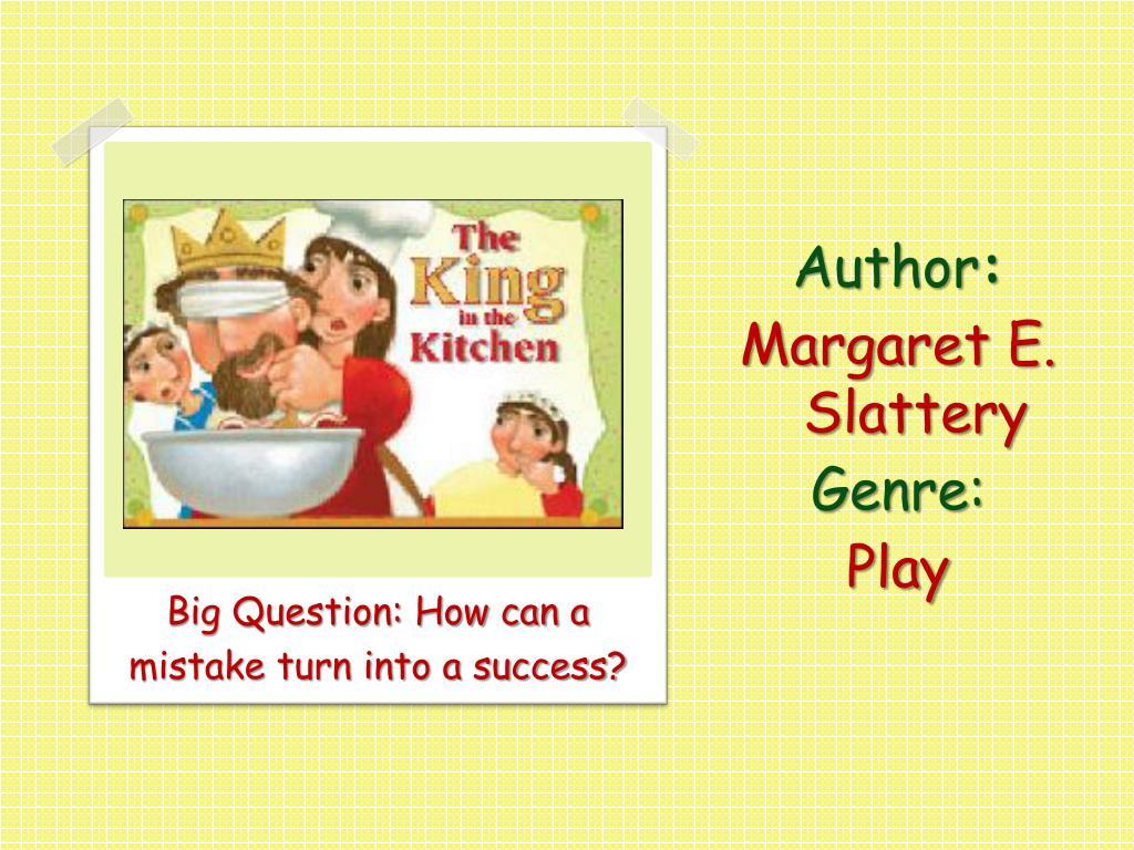 author margaret e slattery genre play l.