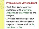 pronouns and antecedents74