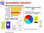 accessibility indicators