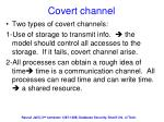 covert channel1