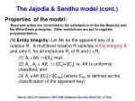 the jajodia sandhu model cont3