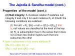 the jajodia sandhu model cont4