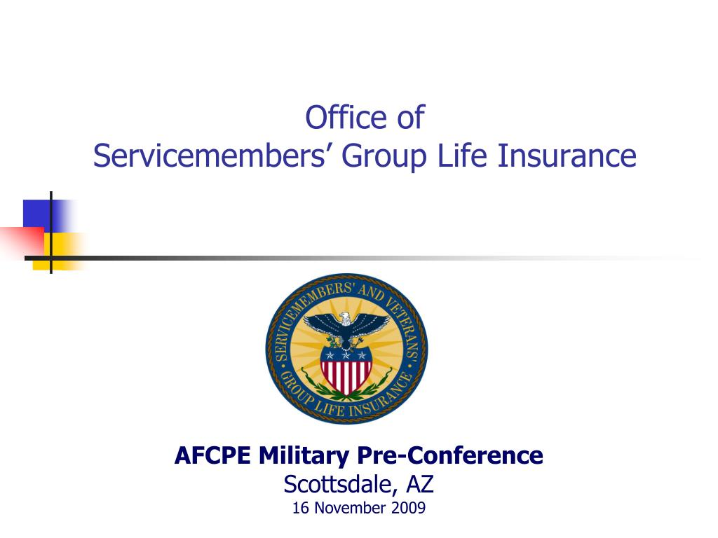 office of servicemembers group life insurance l.