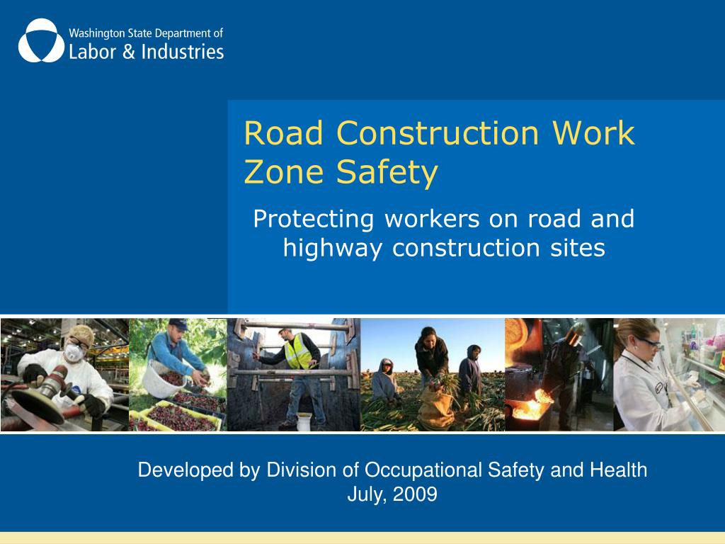 road construction work zone safety l.
