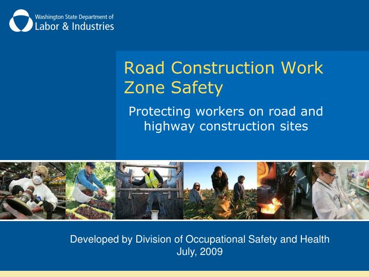 road construction work zone safety n.