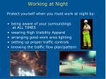 working at night18