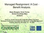 managed realignment a cost benefit analysis