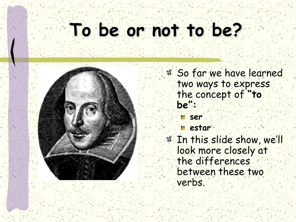 to be or not to be l.