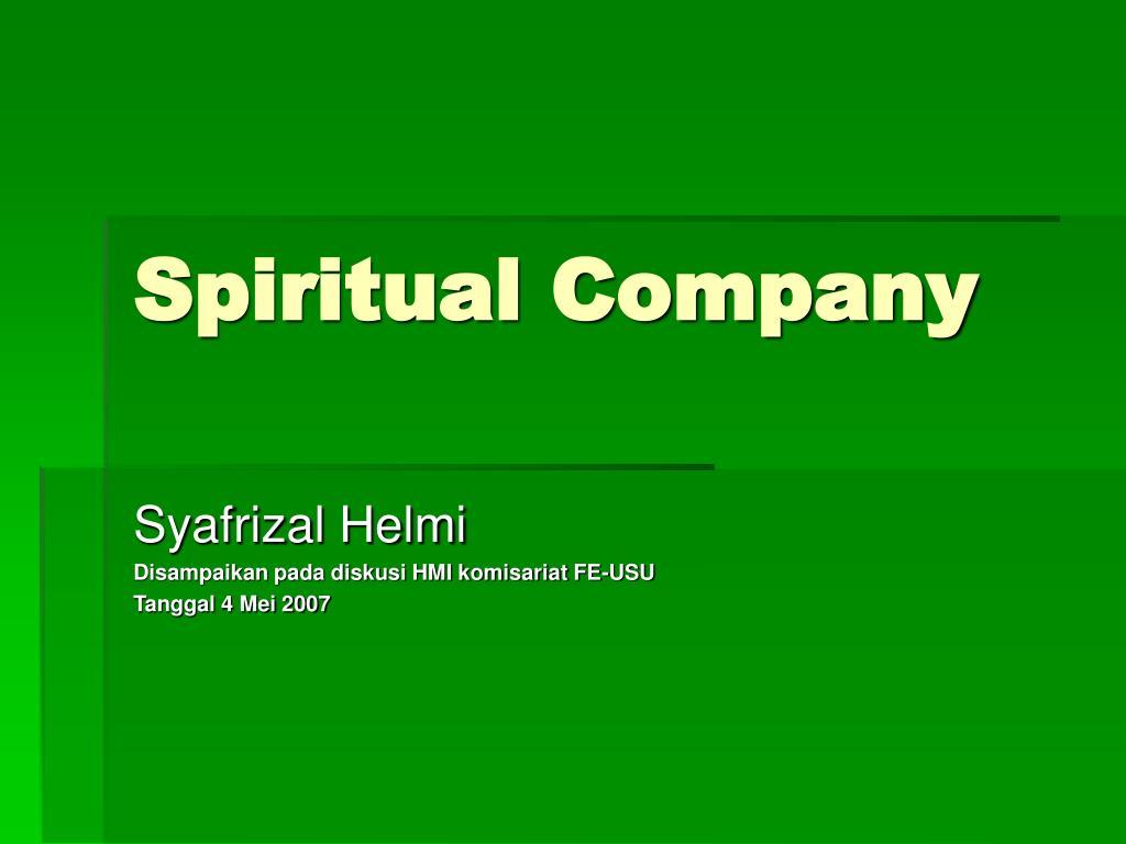 spiritual company l.