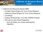 california air resources board arb