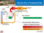 interim tier 4 technical path