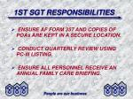 1st sgt responsibilities9