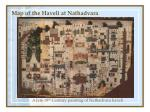 map of the haveli at nathadvara