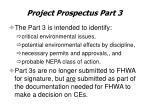 project prospectus part 3