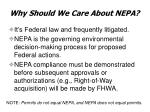 why should we care about nepa