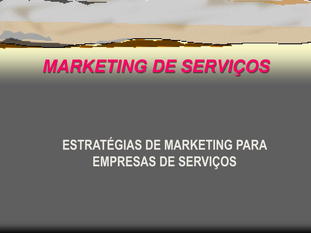 marketing de servi os l.