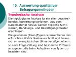 10 auswertung qualitativer befragungsmethoden