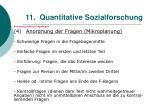 11 quantitative sozialforschung109