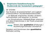 2 empirische sozialforschung f r studierende der sozialarbeit p dagogik