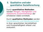 5 qualitative und oder quantitative sozialforschung
