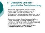 5 qualitative und oder quantitative sozialforschung11