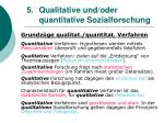 5 qualitative und oder quantitative sozialforschung12